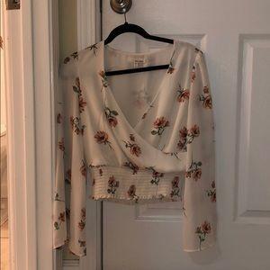 Tops - June & Hudson Floral Blouse